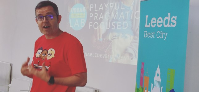 Dylan Roberts, Chief Digital Officer, Leeds City Council